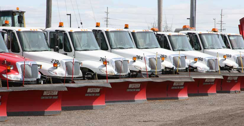 to serve customers, snow Plus utilizes the latest snow plowing and removal technology to carry out operations